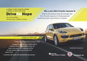 Hope Raffle Flyer